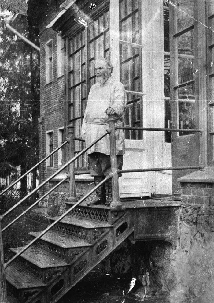Арсений Иванович Морозов. 1917 г.