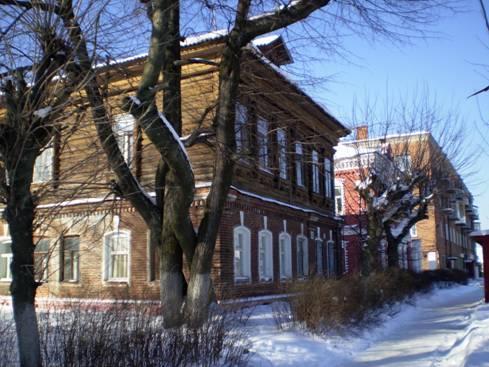 Дома фабрикантов Барановых.