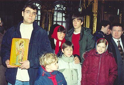 Наталья варлей и её дети фото