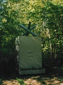 Памятный знак противотанковый ёж