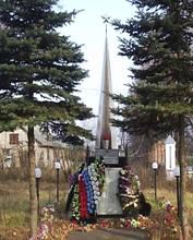 Памятник в Ямкино
